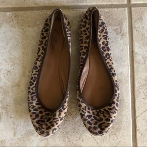 Lucky Brand Leopard Print Flats